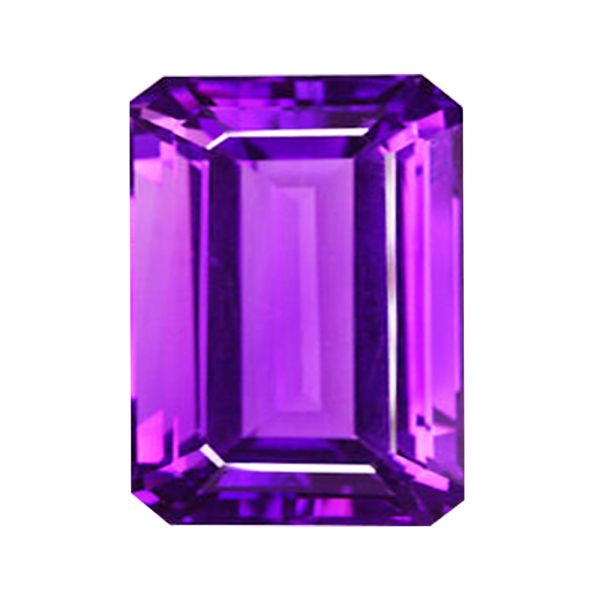 12x10 mm Natural Amethyst Octagon Cut Pair 12.54 Cts Top Purple Shade Faceted Loose Gemstones